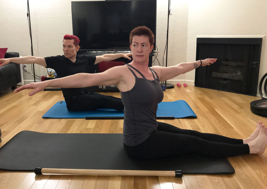 Mat Pilates at Home